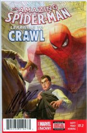 Amazing Spider-man #1.2 First Print Dynamic Forces Signed Alex Ross DF COA Marvel comic book